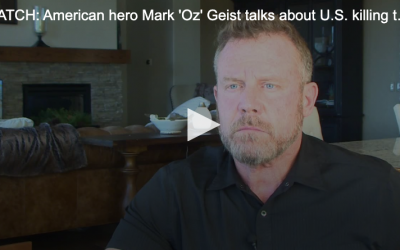 WATCH: American hero Mark 'Oz' Geist talks about U.S. killing top Iranian military leader